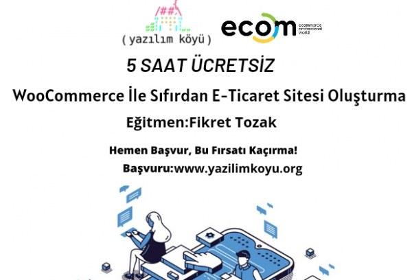 Fikret Tozak ile WooCommerce ile Sıfırdan E-Ticaret Sitesi Oluşturma Eğitimi